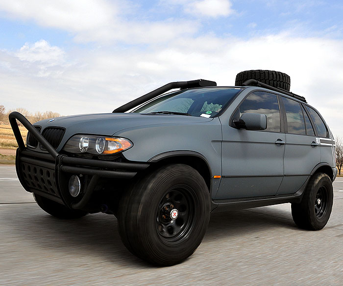 BMW X5 Off road