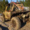 подготовленный внедорожник для грязи
