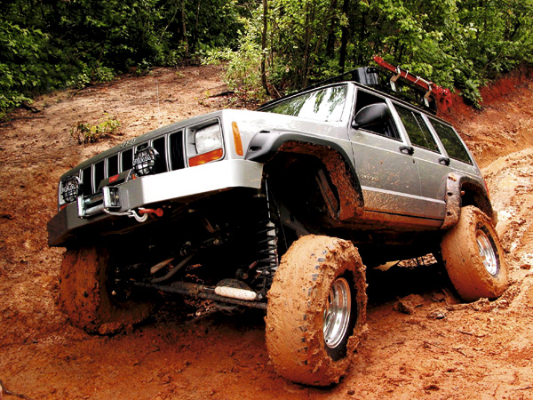 Off Road Grand Cheroke Jeep