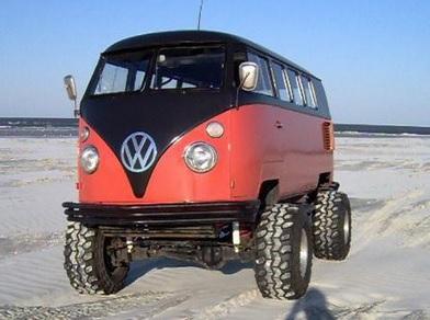 VW T1 offroad