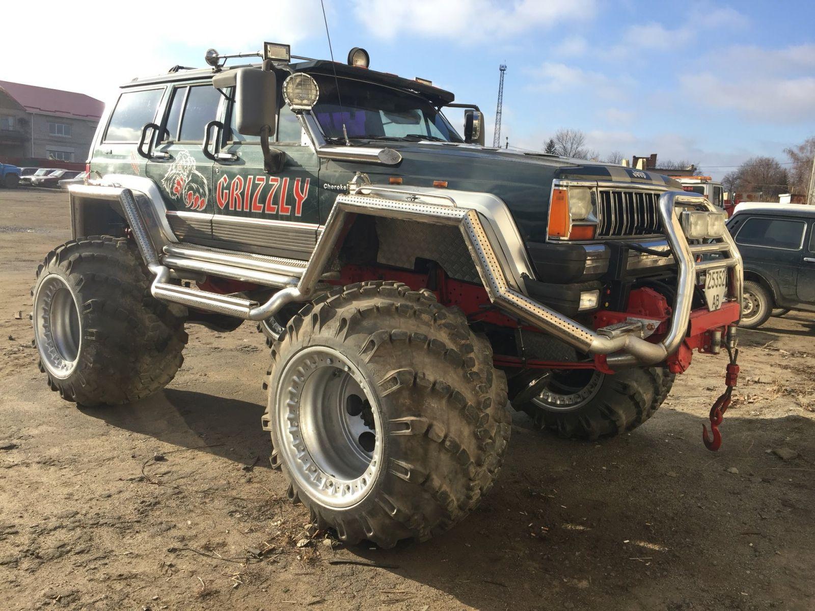 jeep на арочных колесах