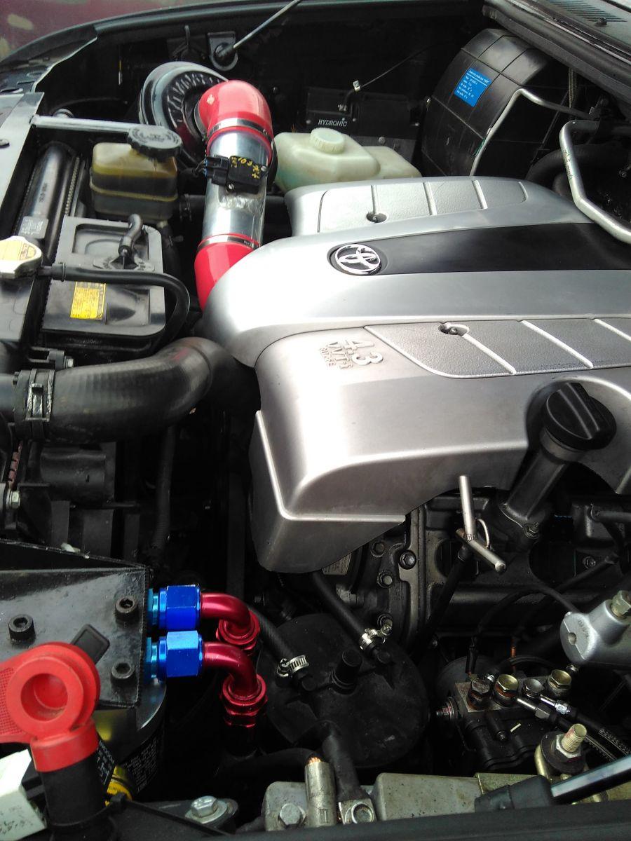 УАЗ Патриот V8, мотор 3UZ-FE, 300 л.с.