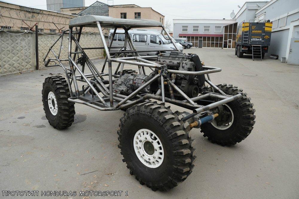 Каркас прототипа тр3