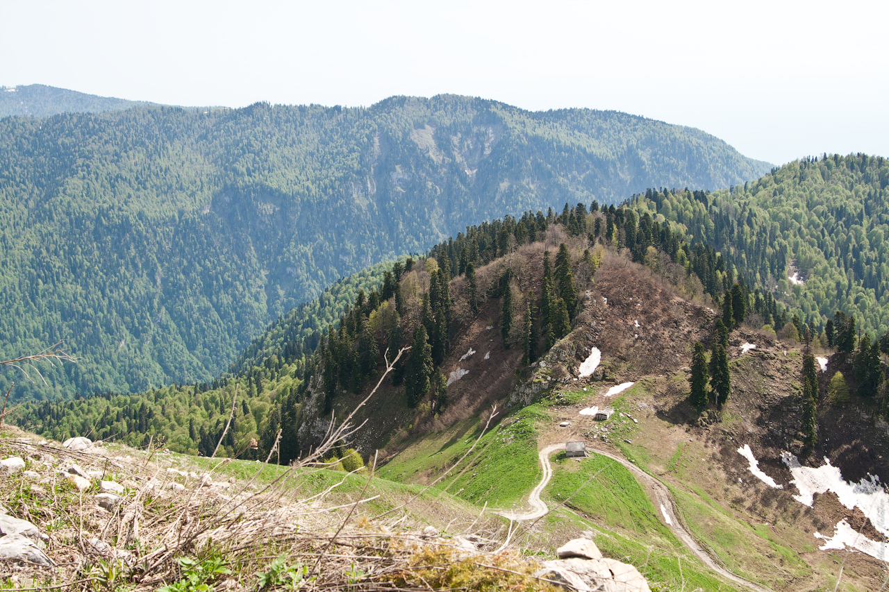 Абхазия Перевал04