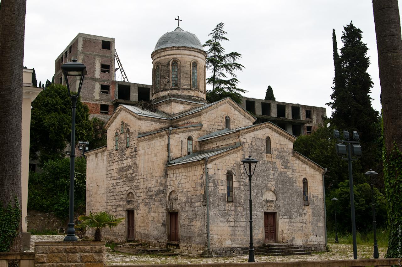 Абхазия Новый Афон09