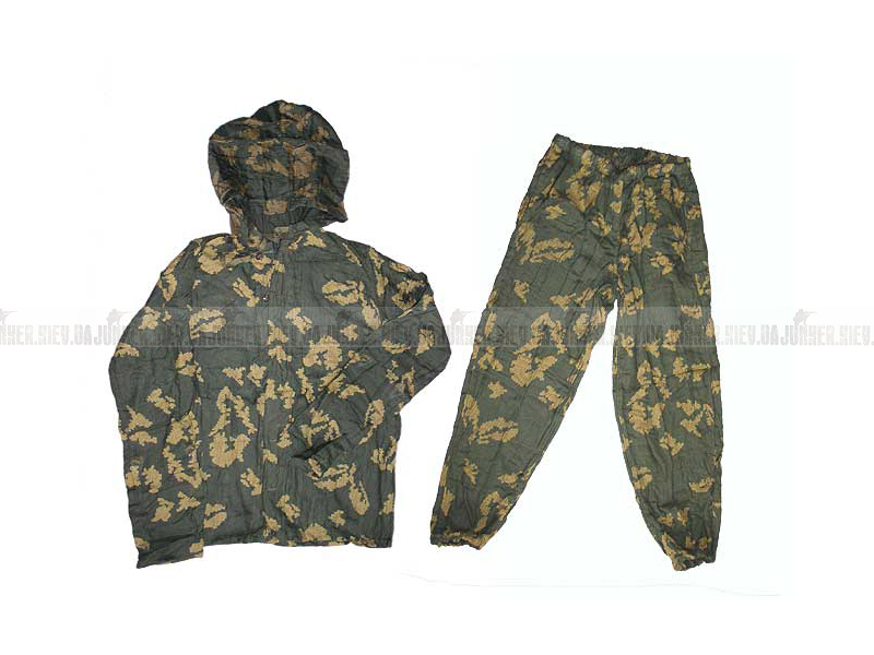Маскировочная одежда. Увеличить фото: Маскхалат.