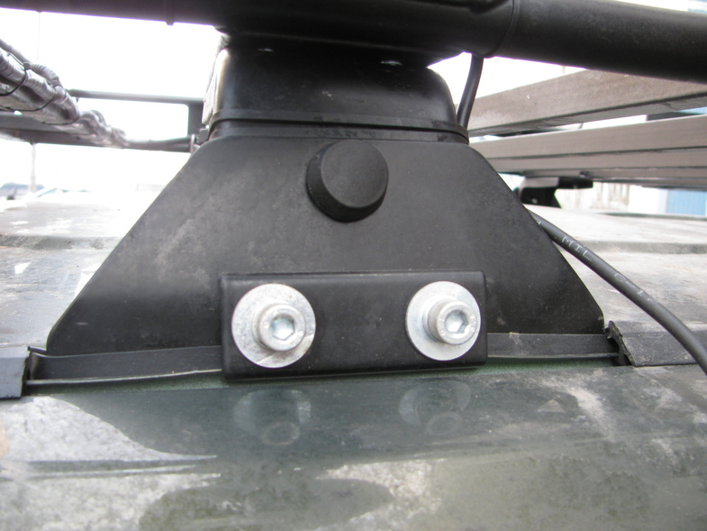 Багажник на l200 своими руками